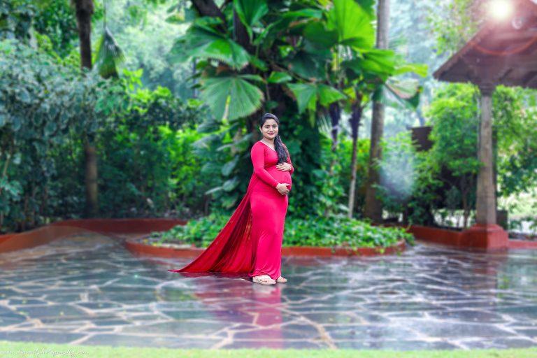 Maternity shoot in Alankrita Resort