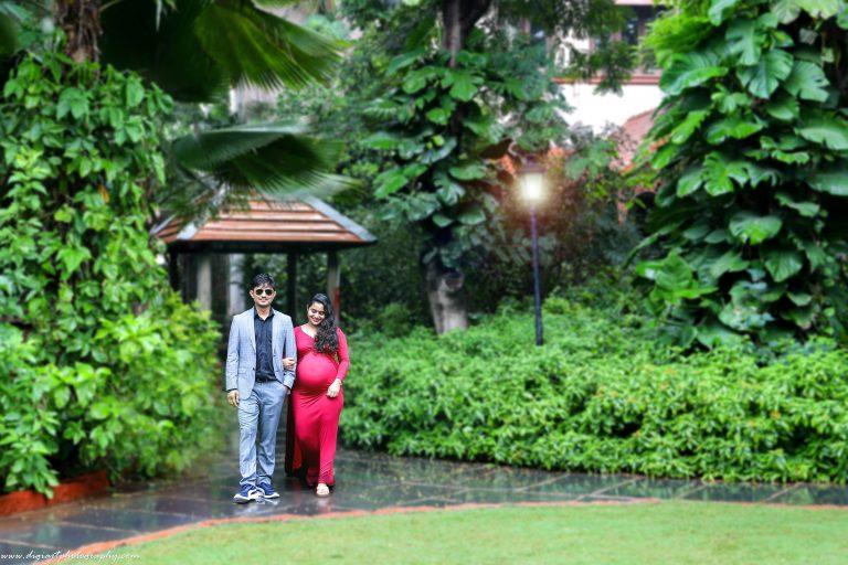 Maternity shoot in Alankrita Resort with couple