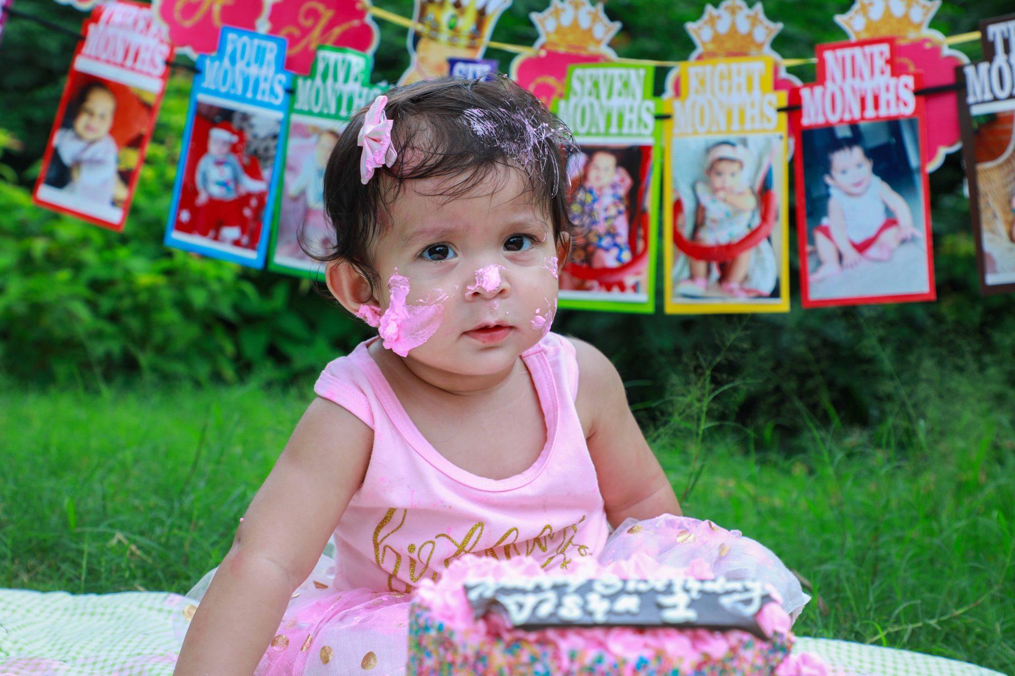 cake smash photography hyderabad