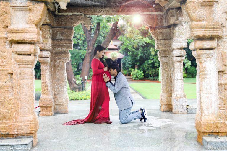 Maternity shoot in Alankrita