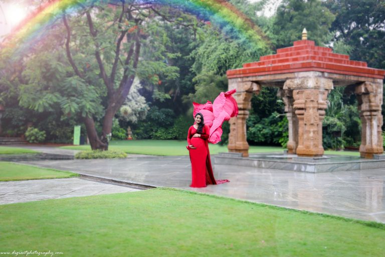 Maternity shoot in Alankrita Resort outdoors