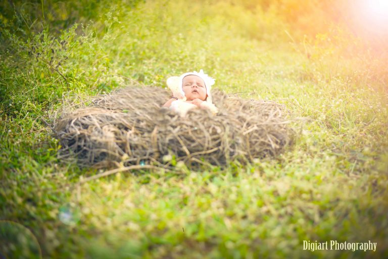 Newborn photography baby girl photoshoot Hyderabad digiart photography hitech city opposite inorbit mall