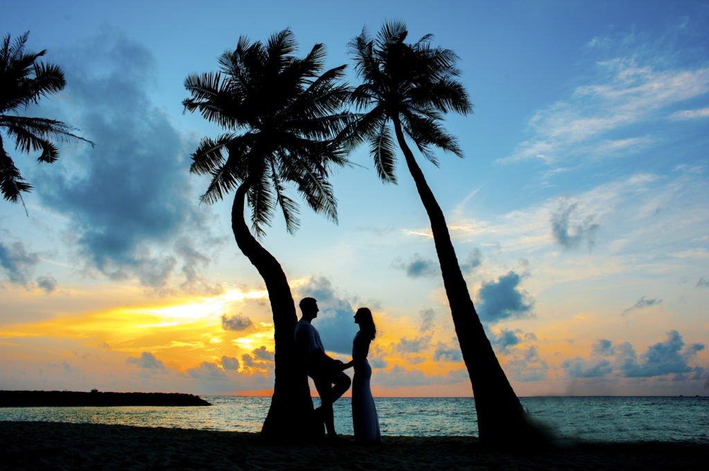 pre wedding beach photo digiart photography